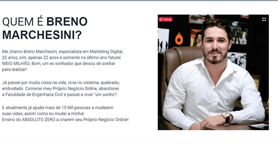 criador do curso mude sua rotina Breno Ribeiro Marchesini